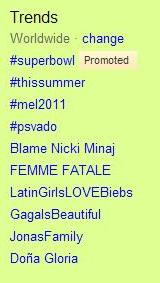 mel2011 trending topic twitter