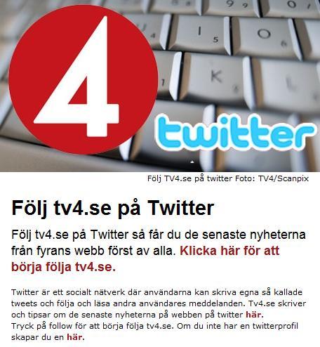 tv4 på twitter