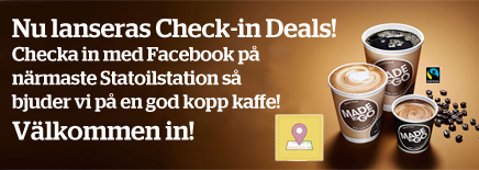 Statoil Facebook Deals