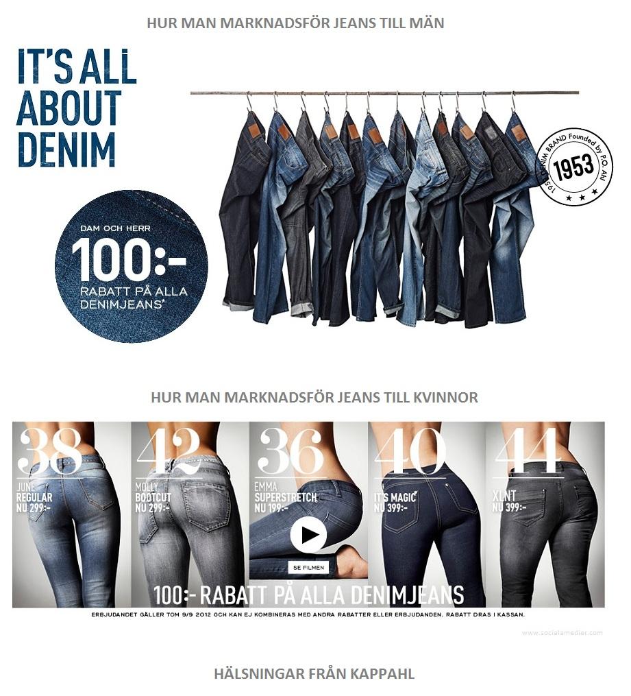 Reklam för jeans - KappAhl