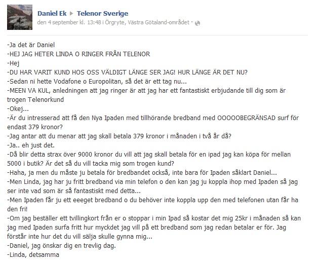 facebook-telenor-kommentar