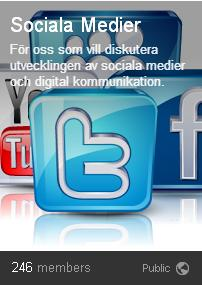google+ sociala medier