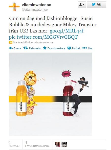 vitamin water sponsrad tweet