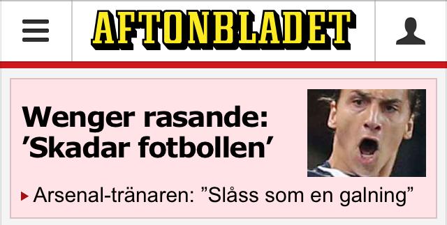 Aftonbladet Zlatan