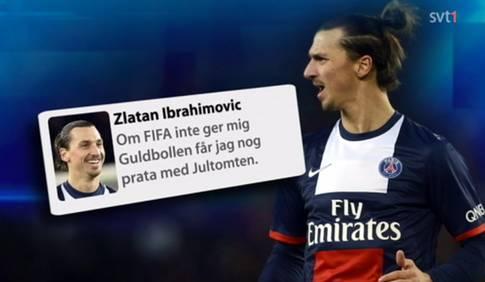 Falsk Zlatan Ibrahimovic på Twitter
