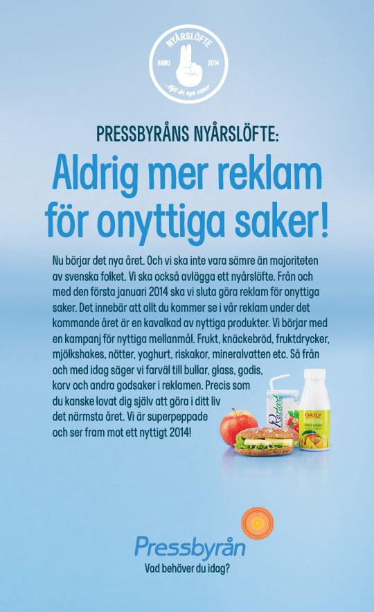 pressbyrån reklam annons