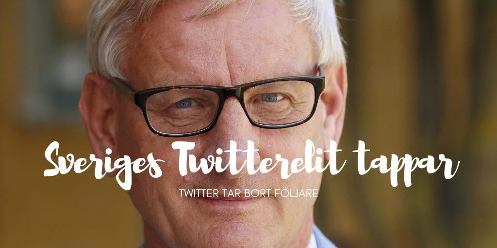 mäktigast på Twitter i Sverige