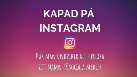 ditt namn på instagram