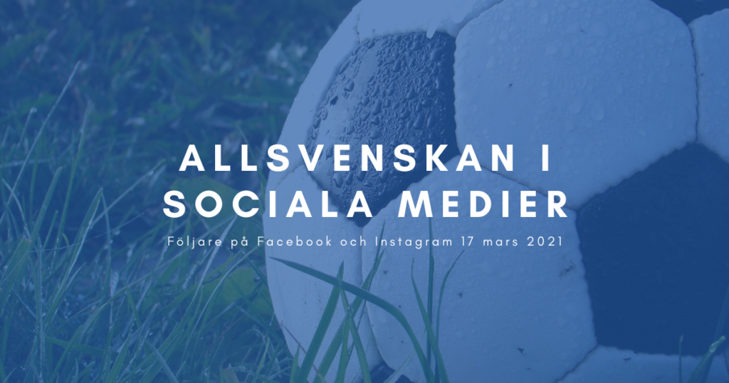 allsvenskan 2021 sociala medier